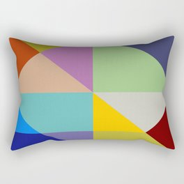 Abstract #228 Rectangular Pillow