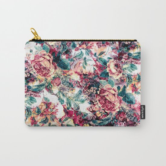 RPE FLORAL ABSTRACT II Carry-All Pouch