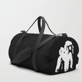 PET POODLE DOG Duffle Bag