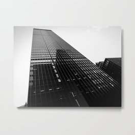 Reflections Of The City Sky Metal Print
