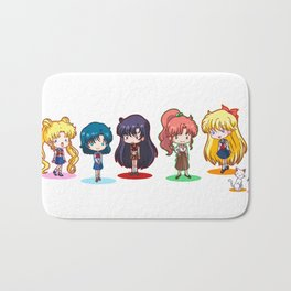 la la pretty guardian Bath Mat