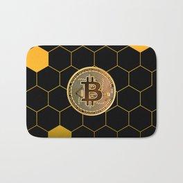 Bitcoin Bee Bath Mat