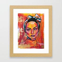 Latin queen Framed Art Print