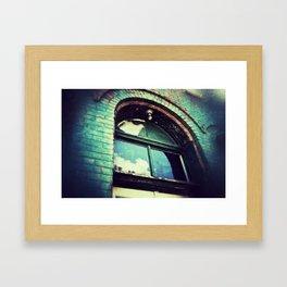 In a Blur Framed Art Print