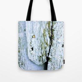Weathered Barn Wall Wood Texture Tote Bag