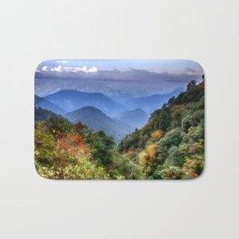 The Himalayas of Bhutan Bath Mat