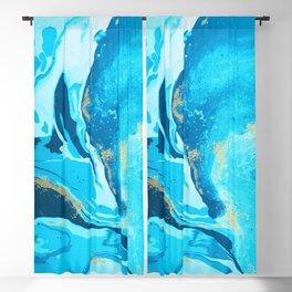 Watercolor Splash Background Blackout Curtain