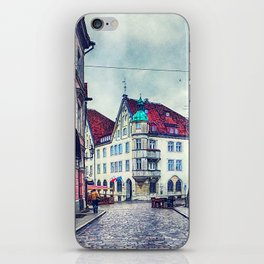 Tallinn art 11 #tallinn #city iPhone Skin