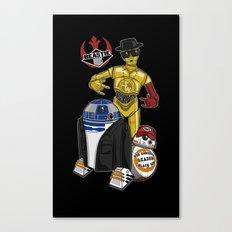 Beastie Droids Canvas Print