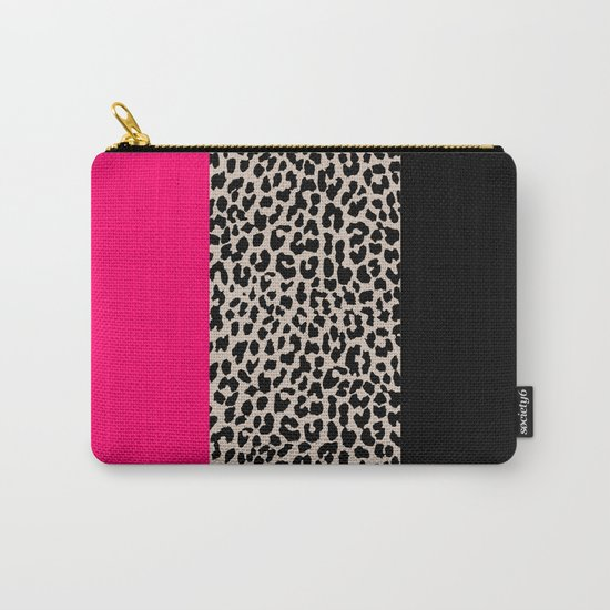Leopard National Flag IV Carry-All Pouch