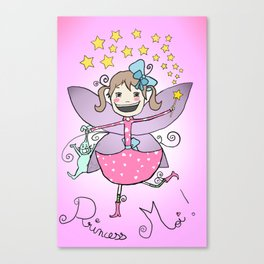 Princess Moi! Canvas Print