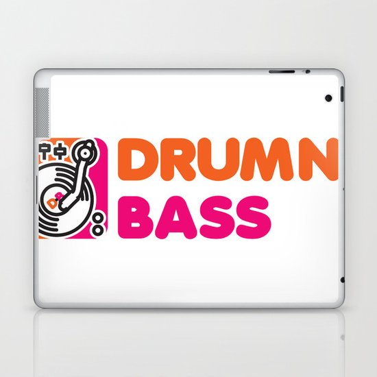 Drumn' Bass  Laptop & iPad Skin