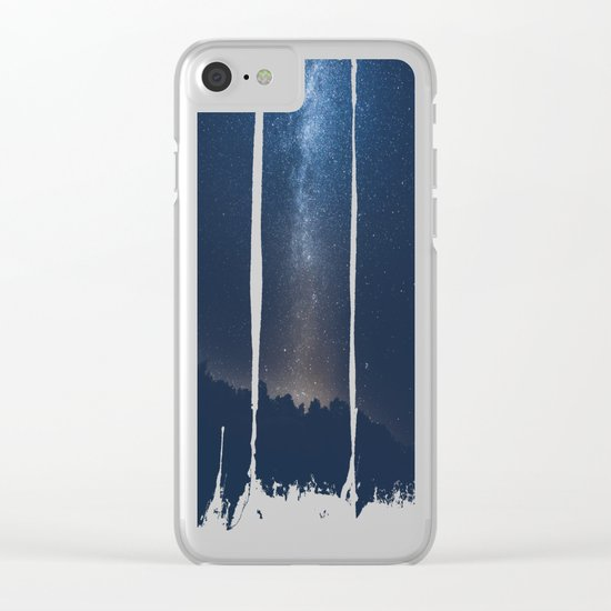 Please take me home Clear iPhone Case