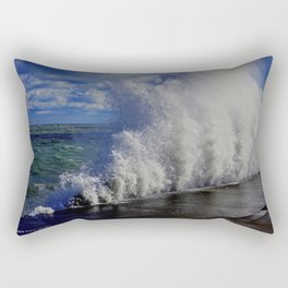 When Sandy Made Waves in Chicago #1 (Chicago Waves Collection) Rectangular Pillow