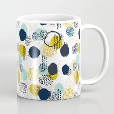 Jamm - abstract art painting brushstrokes modern minimal paint trendy colors hipster gender neutral  Mug