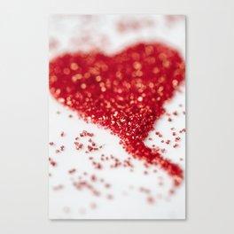 Sugar Heart Canvas Print