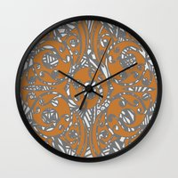 maori Wall Clocks featuring Maori Polynesian Style by Lonica Photography & Poly Designs
