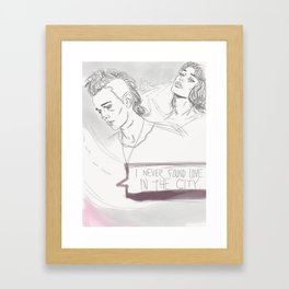 A Change of Heart Framed Art Print