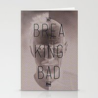 breaking bad Stationery Cards featuring Breaking Bad by Nigel Sequeira