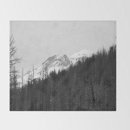 Trees Die Throw Blanket