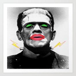 Frankenstein Drag Art Print