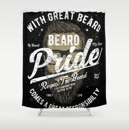 Beard Pride Shower Curtain