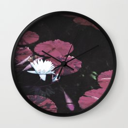 Red Pond Wall Clock