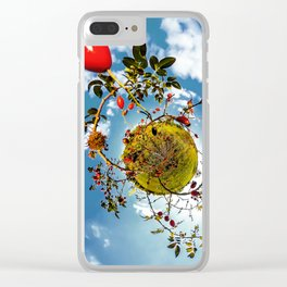 Rosehips Planet Clear iPhone Case