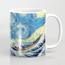 Starry (Great Wave) Night Coffee Mug