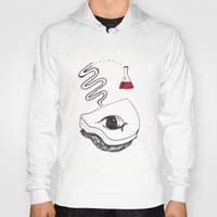chemistry Hoodies featuring Piano Chemistry by Marcus Bichel Lindegaard