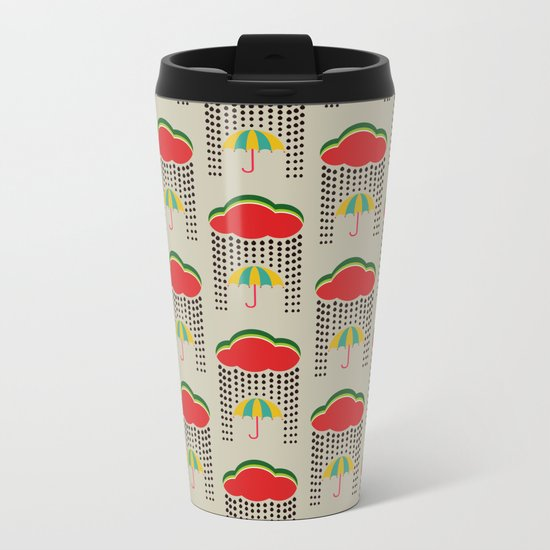 Refreshing watermelon Metal Travel Mug