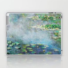 1906 Waterlilies oil on canvas. Claude Monet. Laptop & iPad Skin