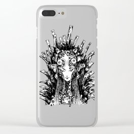 Gorgon Clear iPhone Case