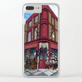 British Shop Clear iPhone Case