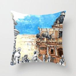 palermus Throw Pillow