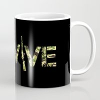army Mugs featuring Survive (Army) by eARTh