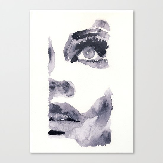 Epiphany - ink wash Canvas Print