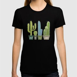Don't Be A Prick Cactus T-shirt