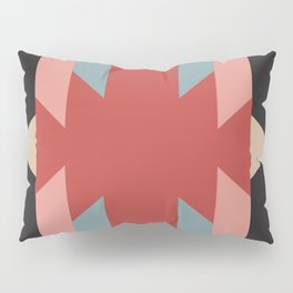 Red Star - Style Me Stripes Pillow Sham
