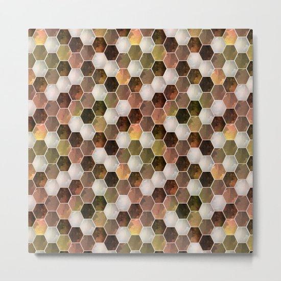 Polygonal 2 Metal Print