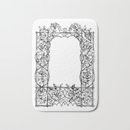 """Much Ado About Nothing"" Cast Frame Bath Mat"