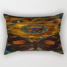 Majestic Butterfly Rectangular Pillow