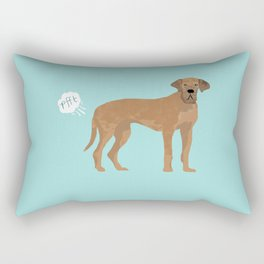 great dane funny farting dog breed gifts Rectangular Pillow