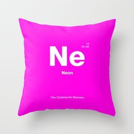 Neon Throw Pillow