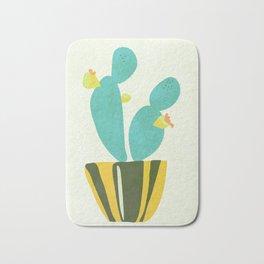 Modern Cactus Bath Mat