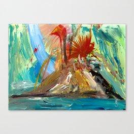 Mountaintop Mayhem Canvas Print