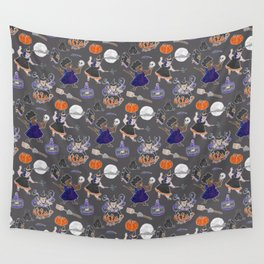 Chubboween Patriarchy Potion Watercolor Pattern Wall Tapestry