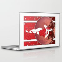 bruno mars Laptop & iPad Skins featuring Mars by Andrew Mark Hunter