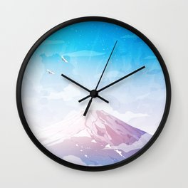 The last days of winter Wall Clock