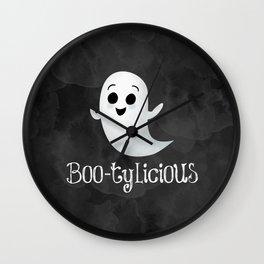 Boo-tylicious Wall Clock